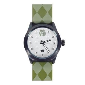 """Argyle"" Old Guys Rule Limited Edition Watch"